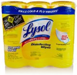 Lysol Disinfecting Wipes, Lemon and Lime Blossom Scent, 105 Count