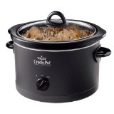 Crock-Pot SCR400-B Crock-Pot SCR400-B 4 Quart Manual Slow Cooker, Black,  1, Black