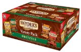 Snyder's of Hanover Pretzel Variety Pack, 1.5 Ounce, (Pack of 36)