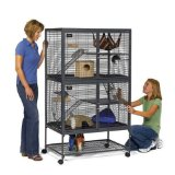 Midwest Critter Nation Animal Habitat with Stand, Double Unit, 36 Inches by 24 Inches by 63 Inches