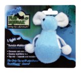 OurPets Play-N-Squeak at Night Twinkle WobbleMouse Cat Toy