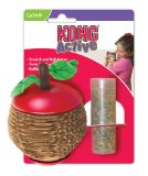 KONG Scratch Apple for Cats, Catnip Toy
