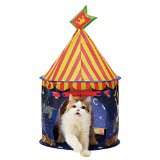 Necoichi Cat Tent (Night Carousel) Bed, Condo, Cave, House for CAT