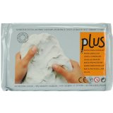Activa Plus Natural Self Hardening Clay, 2.2-Pound, White