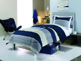 8PC Simple by Design Dorm Kit Twin XL Bed in Bag Set (Stripe)