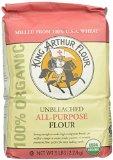 King Arthur Flour 100% Organic Unbleached All-Purpose Flour, 5 Pound