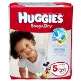 Huggie, Snug & Dry Size 5 Jumbo Pack