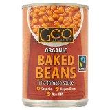 Geo Organics Fairtraide Baked Beans (400g)