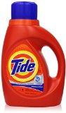 Tide Original Scent High Efficiency Liquid Laundry Detergent , 50 Fl Oz (Pack of 2)