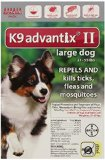 Bayer Advantix II, Large Dogs, 21 to 55-Pound, 6-Month
