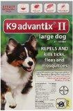 Bayer Advantix II, Large Dogs, 21 to 55-Pound, 6-Month