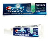 Crest Pro-Health Advanced Clinical Gum Protection Toothpaste, Smooth Mint, Travel Size, TSA Approved, 0.85 Ounces / 24 Gram (Pack of 12)