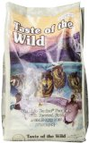 Taste of the Wild Dry Dog Food, Wetlands Canine Formula with Roasted Wild Fowl, 5 Pound Bag