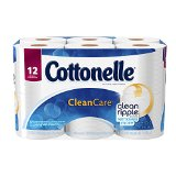 Cottonelle Clean Care Big Roll Toilet Paper, 12 Count