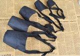 EWIN(R) 1SET of 5PCS Breathable Safety Small Medium Large Extra Dog Muzzle Muzzel Adjustable Black