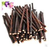 Purple Star 100g Pet Snacks Apple Sticks Chew Toy for Squirrel Rabbits Guinea Pigs Chinchilla Parrot (About 16-20 Sticks)