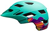 Bell Sidetrack Youth Helmet - Kid's Matte Mint Hearts
