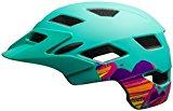 Bell Sidetrack Youth Helmet - Kid's Matte Mint Hearts