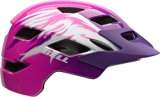 Bell Sidetrack Helmet - Youth Dazzle Pink Raven, One Size