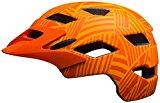 Bell Sidetrack Youth Helmet - Kid's Matte Tang/Orange Seeker