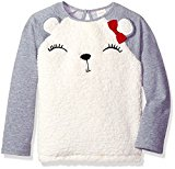 Gymboree Toddler Girls' Polar Bear Pullover, Multi, 3T