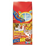 Friskies Dry Cat Food, Tender & Crunchy Combo, 6.3-Pound Bag, Pack of 1