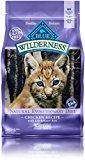 Blue Buffalo Kitten 100-Percent Grain Free Chicken Formula Dry Cat Food, 5 lb Bag