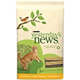 Yesterday's News Cat Litter, Non-Clumping, Unscented, 5-Pound Bag, Pack of 6