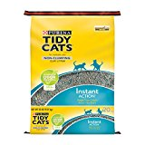 Tidy Cats Cat Litter, Non-Clumping, Instant Action, 20-Pound Bag, Pack of 1