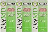LiceMD Lice & Egg Treatment, 4-Ounce Bottle (Pack of 3)