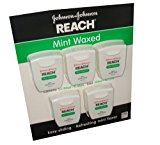 Reach Mint Waxed Dental Floss 100 Yards (Pack of 10)