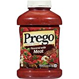 Prego Italian Sauce, Flavored with Meat, 67 Ounce