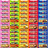 Nissin Instant Ramen Noodles Variety Pack 5 Flavors (50 Count)