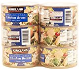 Kirkland Signature Premium Chunk Chicken Breast Packed in Water, 12.5 Ounce, 6 Count