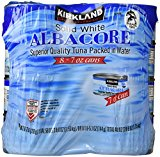 Kirkland Signature Solid White Albacore Tuna, 56 Ounce