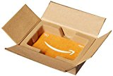 Amazon.com $50 Gift Card in a Mini Amazon Shipping Box (Amazon Icons Card Design)