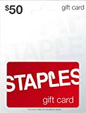Staples Gift Card $50