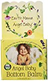 Earth Mama Bottom Balm, Natural Diaper Cream, Made with Organic Calendula to Soothe and Moisturize Sensitive Skin, Vegan and Safe for Cloth Diapers 2 fl. oz.