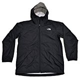 The North Face Bakossi Mens Rain Jacket (TNF Black, Large)