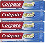 Colgate Total Whitening Toothpaste, 7.8 oz (Pack of 4)
