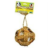 Ware Manufacturing Willow Edible Small Pet Ball Chew Treat, 4-Inch
