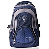Vbiger Cute Girls/boys Backpack for School College Laptop Bags Outdoor Daypack (Blue)