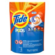 Tide PODS Laundry Detergent Pacs, Original Scent ,31 Count