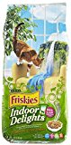 Friskies Dry Indoor Delights Food Bag for Cats, 6.3-Pound (Pack of 1)