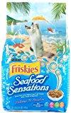 Friskies Dry Cat Food, Seafood Sensations, 50.4 Ounce Bag