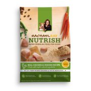 Rachael Ray Nutrish Natural Dry Dog Food, Real Chicken & Veggies Recipe, 6 lbs