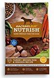 Rachael Ray Nutrish Natural Dry Dog Food, Turkey, Brown Rice & Venison Recipe, 5.5 lb