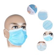 50 Pcs Anti-dust Elastic Ear Loop Disposable Medical Dustproof Surgical Face Mouth Masks Ear Loop Safe and Breathable