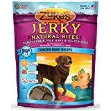 Zuke's Jerky Natural Bites Dog Treats, Tender Beef Recipe, 6-Ounce