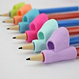 Ecurson 3PCS/Set Children Pencil Holder Pen Writing Aid Grip Posture Correction Tool New